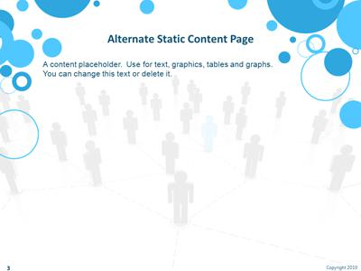 Social networking people a powerpoint template from presentermedia toneelgroepblik Images
