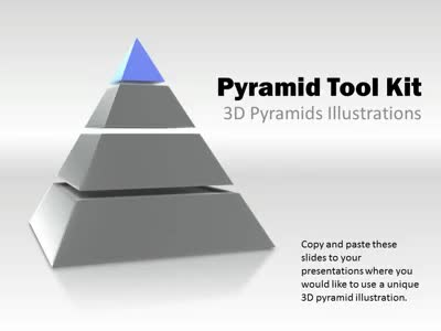 ID# 4084 - Pyramid Tool Kit - PowerPoint Template