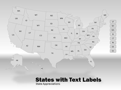 USA Map Tool Kit - A PowerPoint Template from PresenterMedia.com