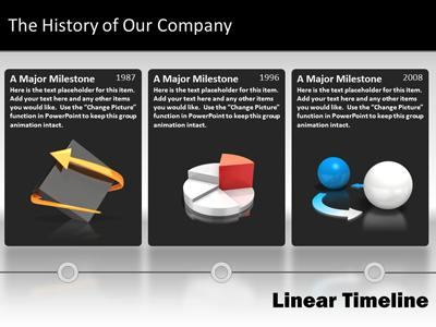 navigate timeline a powerpoint template from presentermedia com