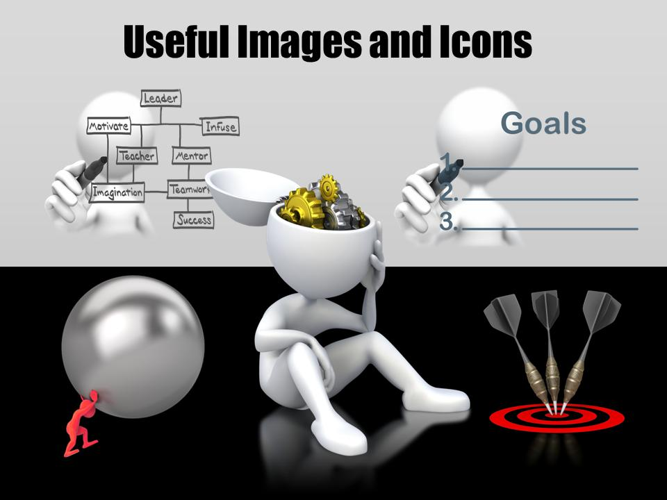 your goals and objectives a powerpoint template from