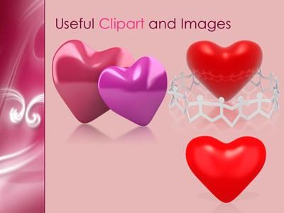 whispered love a powerpoint template from presentermedia com