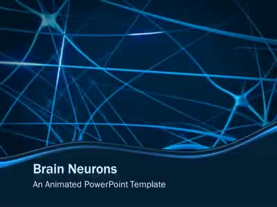 Brain Neurons A Powerpoint Template From Presentermedia