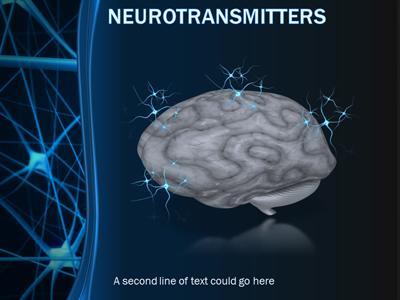 Brain neurons a powerpoint template from presentermedia toneelgroepblik Image collections