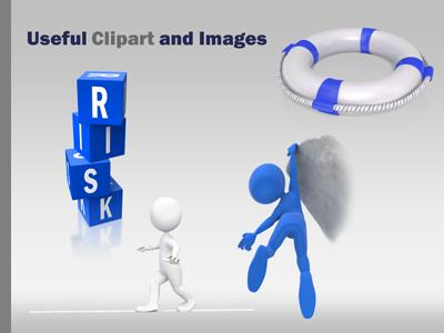 Risky Tightrope A Powerpoint Template From Presentermedia Com