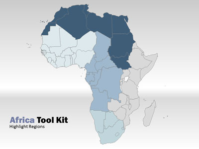 Africa map tool kit a powerpoint template from presentermedia powerpoint template loading preview close toneelgroepblik Images