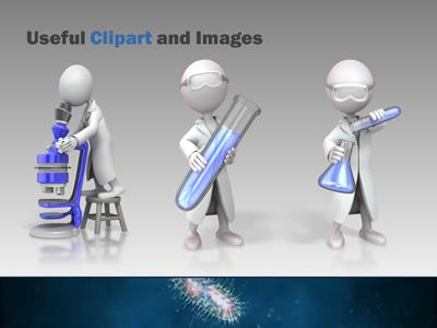 Microbes a powerpoint template from presentermedia toneelgroepblik Images