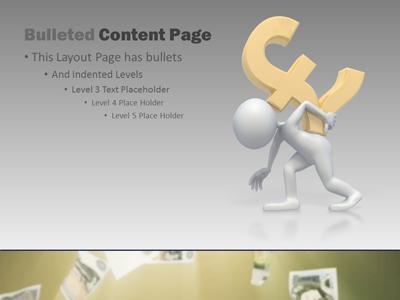 british money a powerpoint template from presentermedia com