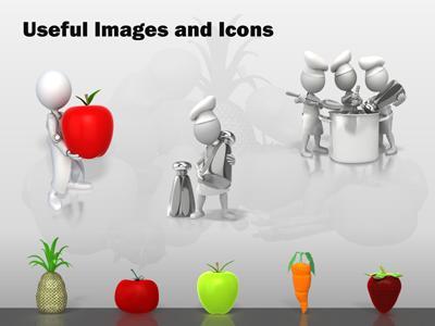 Nutritious healthy food a powerpoint template from presentermedia toneelgroepblik Gallery