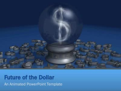 ID# 5940 - Future Of The Dollar - PowerPoint Template