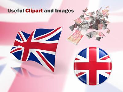 United kingdom flag a powerpoint template from presentermedia toneelgroepblik Images
