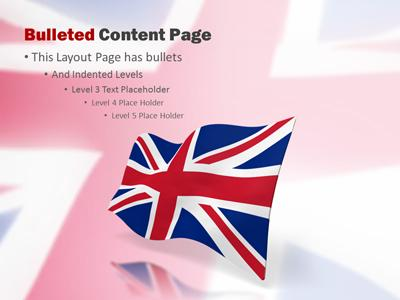 United kingdom flag a powerpoint template from presentermedia toneelgroepblik Gallery