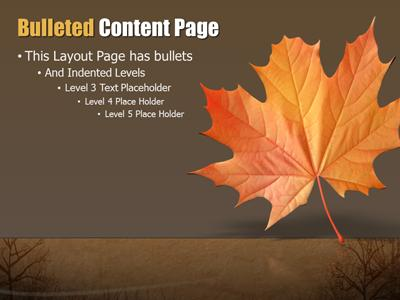 autumn wind a powerpoint template from presentermedia com