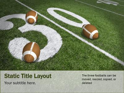 Football field a powerpoint template from presentermedia toneelgroepblik Image collections