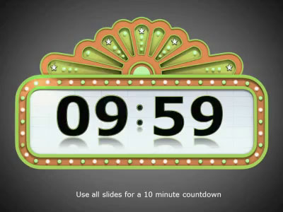 ID# 6655 - Countdown Timer - PowerPoint Template