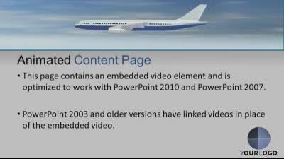 Airport travel a powerpoint template from presentermedia toneelgroepblik Choice Image
