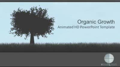 ID# 7374 - Organic Growth - PowerPoint Template