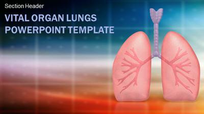 Vital organ lungs a powerpoint template from presentermedia toneelgroepblik Gallery