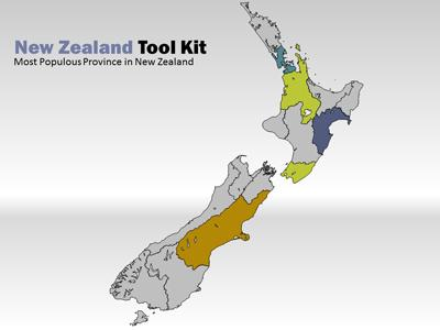 ID# 7467 - New Zealand Tool Kit - PowerPoint Template