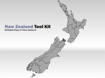 New zealand tool kit a powerpoint template from presentermedia toneelgroepblik Choice Image
