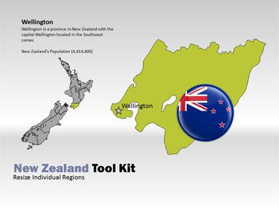 New zealand tool kit a powerpoint template from presentermedia toneelgroepblik Images
