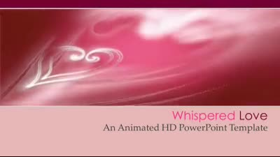 ID# 7473 - Whispered Love - PowerPoint Template