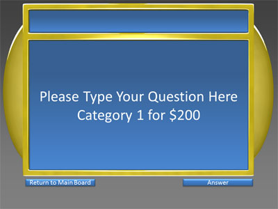 6 Category Questionanswer Game Show A Powerpoint Template From