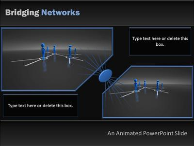 Network People A Powerpoint Template From Presentermedia