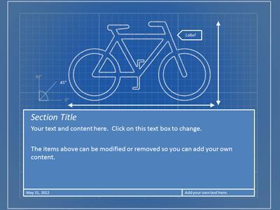 blueprint tool kit a powerpoint template from presentermedia com