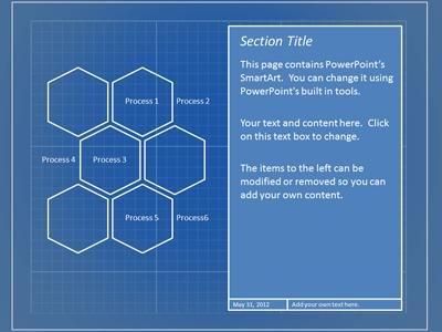 Blueprint tool kit a powerpoint template from presentermedia powerpoint template loading preview close malvernweather Image collections