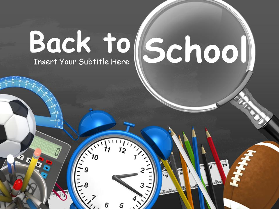 Back To School Toolkit A Powerpoint Template From Presentermedia