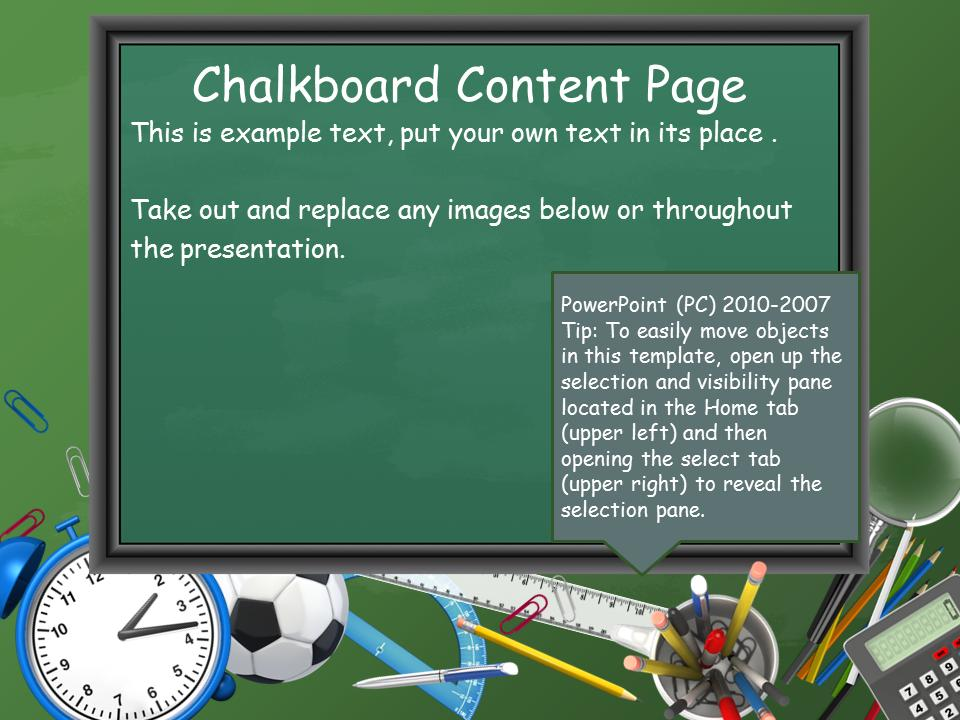 Back To School Toolkit - A PowerPoint Template from
