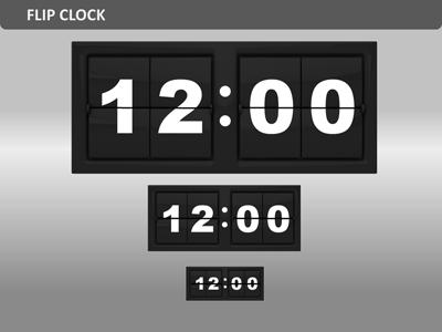 Clock Tool Kit - A PowerPoint Template from PresenterMedia com