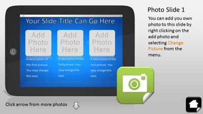 Tablet apps interactive a powerpoint template from presentermedia toneelgroepblik Gallery