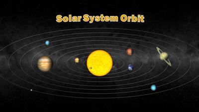 solar system a powerpoint template from presentermediacom