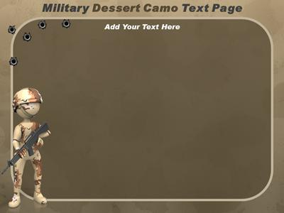 Military camo a powerpoint template from presentermedia toneelgroepblik Images