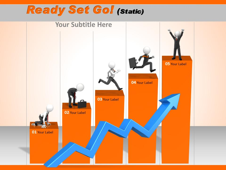 Ready Set Go A Powerpoint Template From Presentermedia