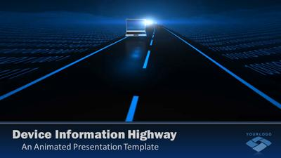 ID# 11890 - Devices Highway - PowerPoint Template