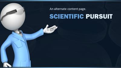 Scientist working in lab a powerpoint template from presentermedia toneelgroepblik Image collections