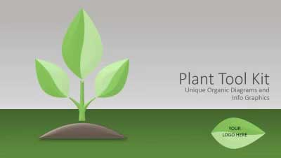 ID# 12455 - Plant Tool Kit - PowerPoint Template