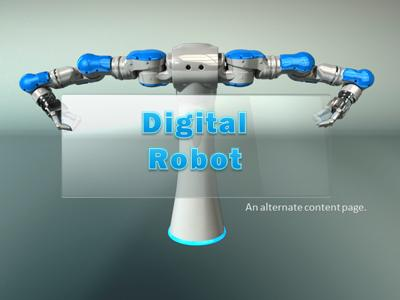 Robot builds glass inserts a powerpoint template from robot builds glass inserts a powerpoint template from presentermedia toneelgroepblik Image collections