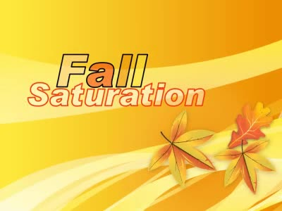 ID# 12878 - Fall Saturation - PowerPoint Template