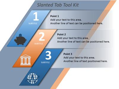 ID# 12949 - Tab Tool Kit - PowerPoint Template