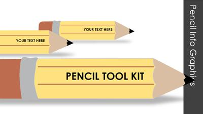 ID# 13132 - Pencil Tool Kit - PowerPoint Template