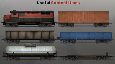 Train frieght transport a powerpoint template from presentermedia toneelgroepblik Image collections
