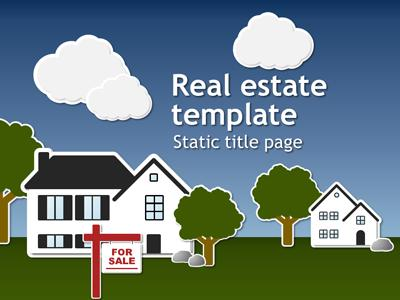 ID# 15005 - Real Estate Template - PowerPoint Template