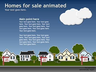 Real estate template a powerpoint template from presentermedia toneelgroepblik Choice Image