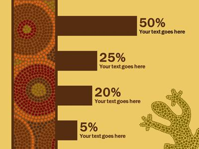 Aboriginal artwork a powerpoint template from presentermedia powerpoint template loading preview close toneelgroepblik Choice Image