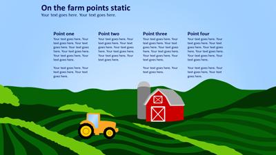 amazing agriculture a powerpoint template from presentermedia com
