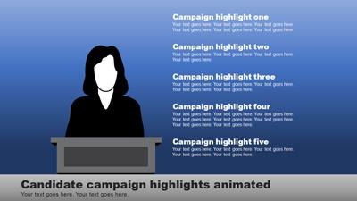 Election time a powerpoint template from presentermedia toneelgroepblik Gallery